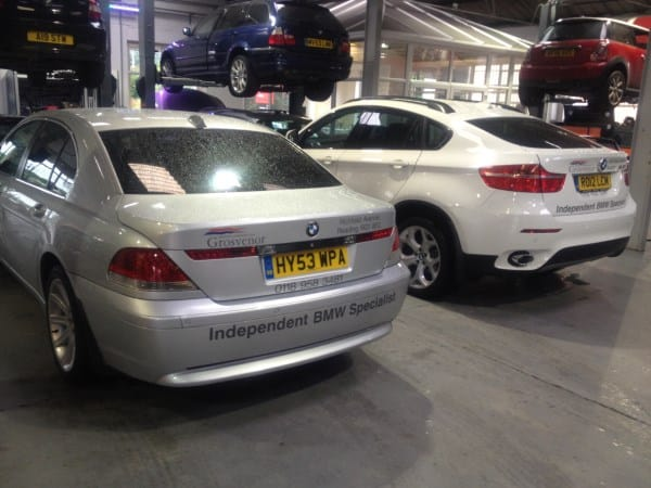 X6 and E65