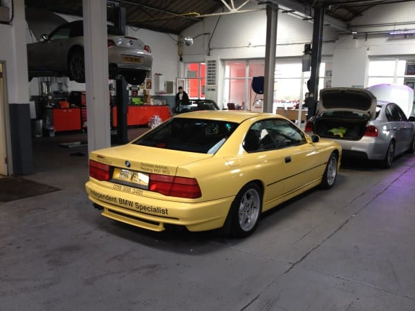BMW E31 840ci 1