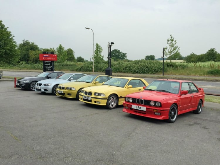 BMW Evolution of the M3
