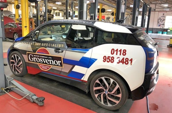BMW i Electric Vehicle MOT Testing