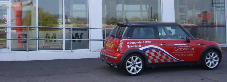 New BMW Mini at Grosvenor Motor Company