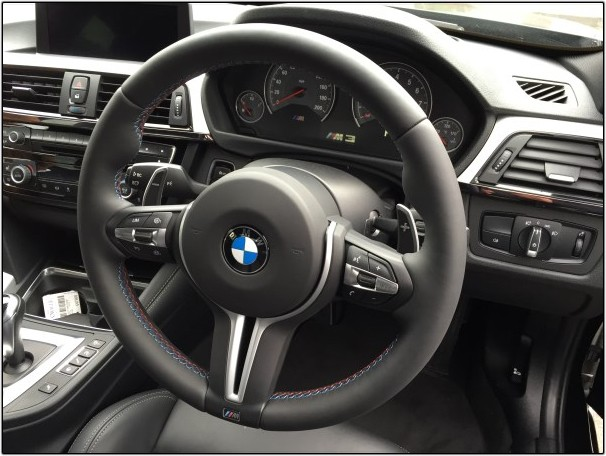 F80 M3 Heated Steering Wheel
