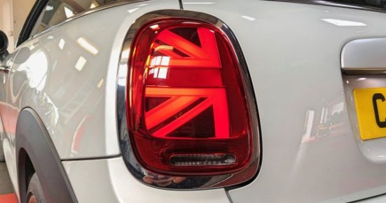 Mini F56 LCI Union Jack Rear Light Retrofit