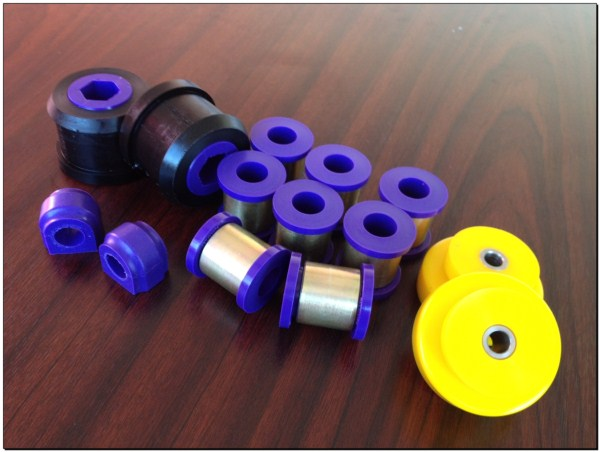 Mini - Polyurethane Suspension Bushes