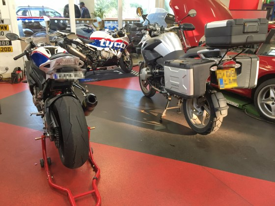 Independent BMW Motorrad Servicing