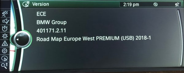 Bmw Digital Road Map Update Europe West Premium 2019 Grosvenor