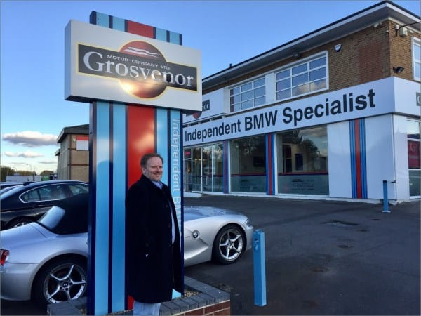 Sean Storey Professional Snooker Player Grosvenor Motor Company BMW Specialist