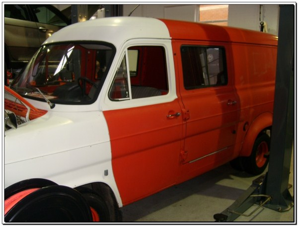BMW Powered Mk1 Ford Transit