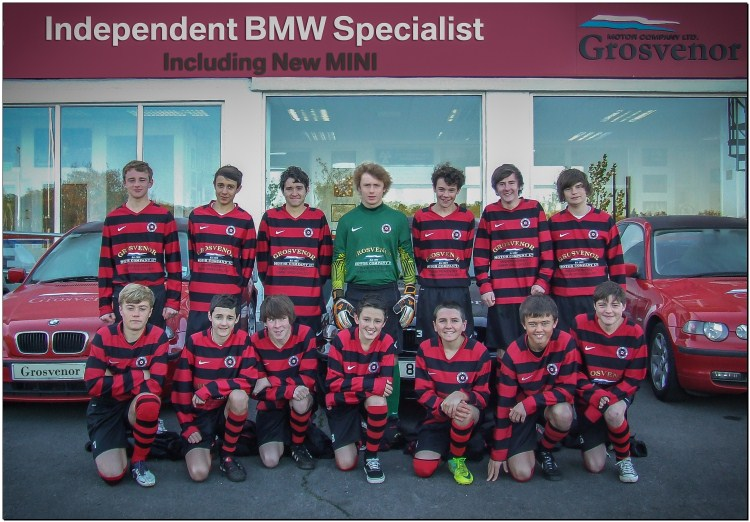 Barton Rovers at Grosvenor Motor Company BMW Reading Sponsorship