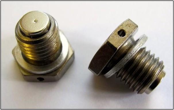 dimple sump plug 2