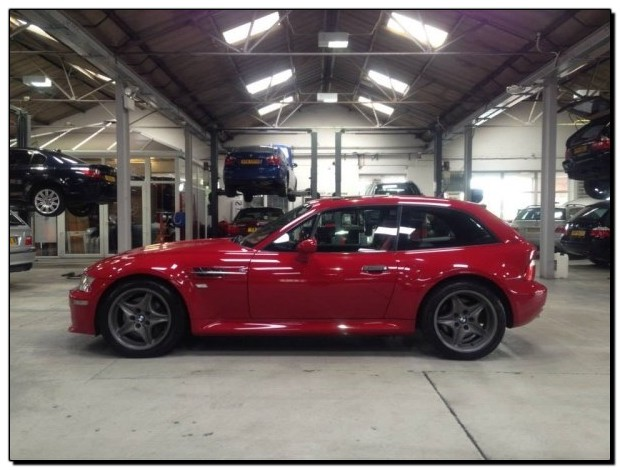 BMW Z3m Coupe Van Project