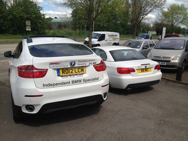 BMW X6 and E93