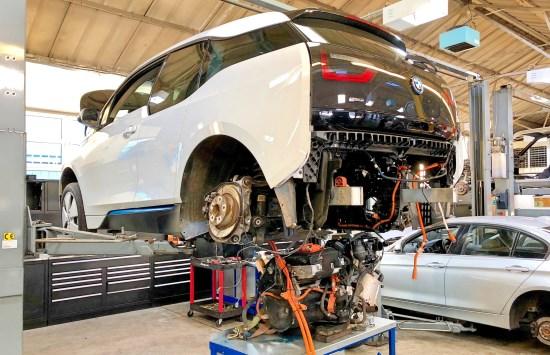 BMW I3 REX REPAIR