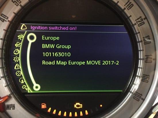 Mini 2017 Navigation Map Updates