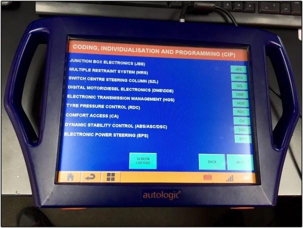 Mini Autologic Software Update