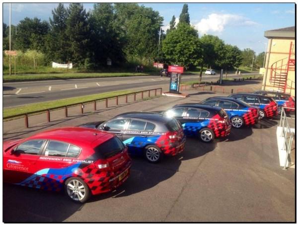 Grosvenor BMW Courtesy Car