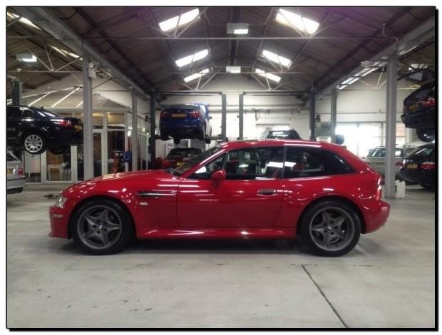 BMW Z3m Coupe Van Project